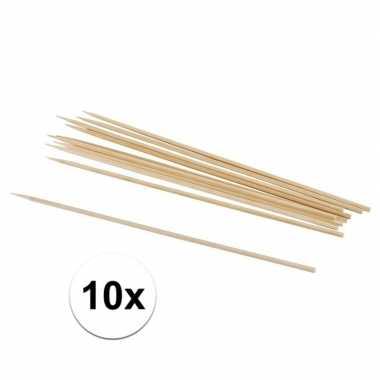 10 hobby knutselhoutjes naturel 20 cm prijs