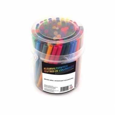 100x gekleurde stiftjes prijs