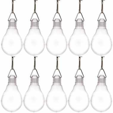 10x buiten verlichting solar lampjes wit 11,8 cm prijs