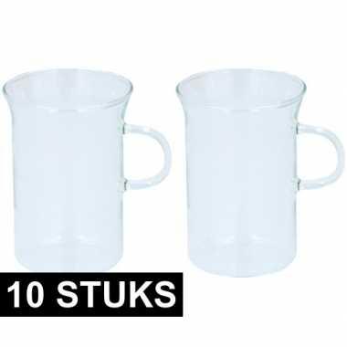 10x glazen voor thee 250 ml prijs