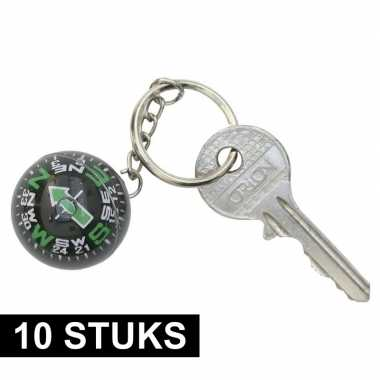 10x kompas sleutelhanger prijs