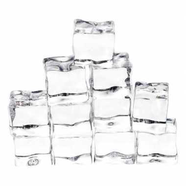 12x ijs/sneeuw thema decoratie neppe ijsklontjes prijs