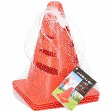 12x oranje pionnen 20 cm hoog prijs