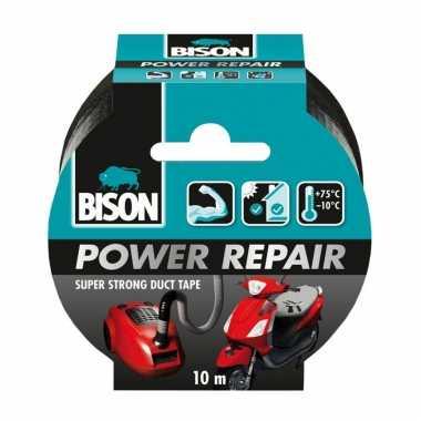 1x bison power repair tape zwart 10 meter prijs