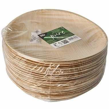 25x palmblad borden 25 cm prijs