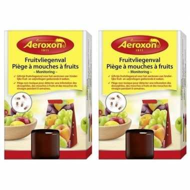 2x aeroxon fruitvliegvangers 40 ml prijs