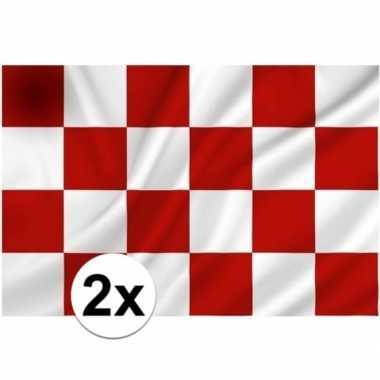 2x noord brabantse vlaggen prijs