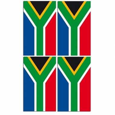 2x papieren vlaggenlijnen zuid-arfika prijs