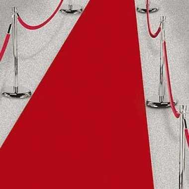 2x rode lopers voor een feest 450 cm prijs