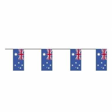 2x stuks papieren vlaggenlijnen australie prijs