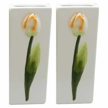 2x witte verwarming verdampers tulp 20 cm prijs