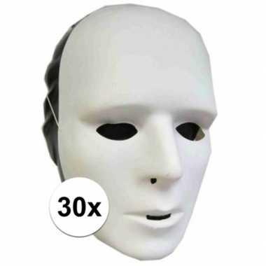 30 grimeer maskers prijs