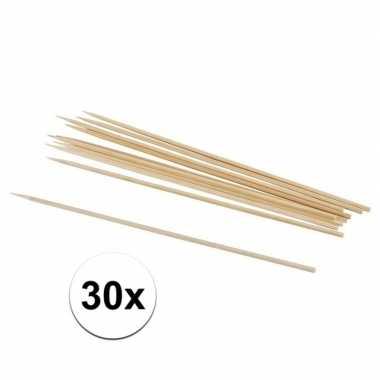 30x hobby knutselhoutjes naturel 20 cm prijs