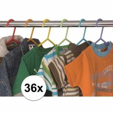 36x kledinghangertjes voor kinderkleding prijs