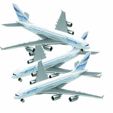 3x airbus a380 speelgoed vliegtuigen prijs