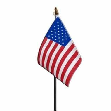 3x amerika vlaggetje polyester prijs