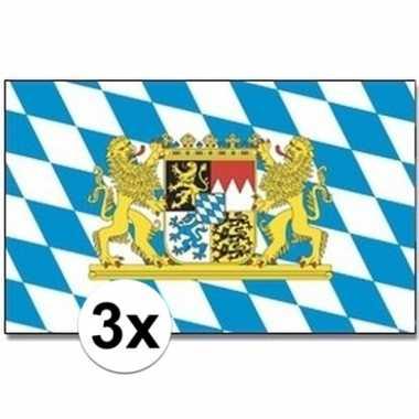3x beierse landen vlaggen 90x150 cm prijs