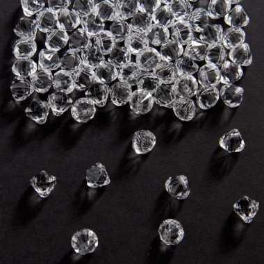 3x decoratie diamantjes transparant 9 mm prijs