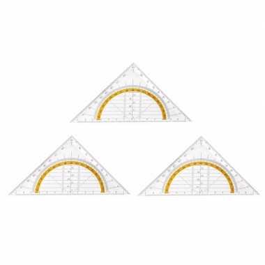 3x geo driehoeken 14 cm prijs