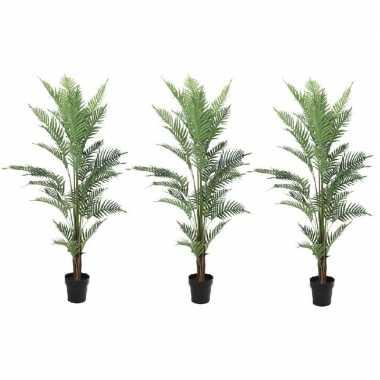 3x kunstplanten een varen van 150 cm prijs