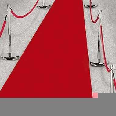 3x rode lopers voor een feest 450 cm prijs