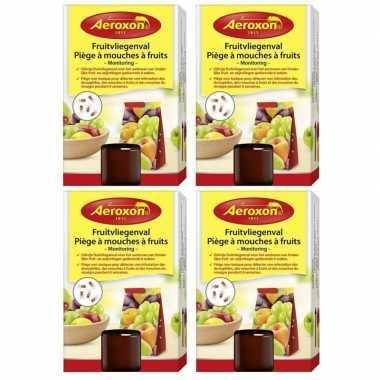 4x aeroxon fruitvliegvangers 40 ml prijs