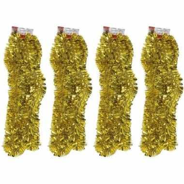 4x folie slingers goud 270 x 12 cm prijs