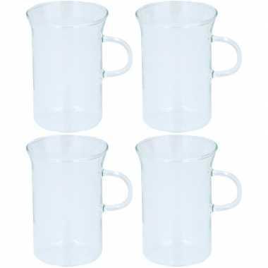 4x glazen voor thee 250 ml prijs