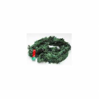 4x kerstslingers dennengroen 5 m prijs
