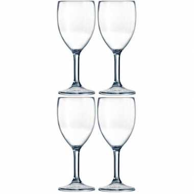 4x picknick wijnglazen kunststof 300 ml prijs