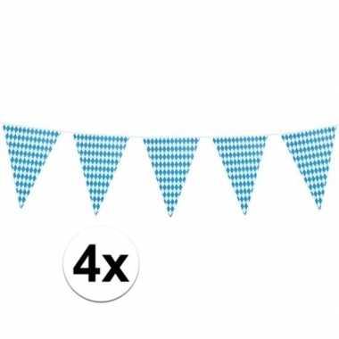 4x xl oktoberfest vlaggenlijnen 8 m prijs