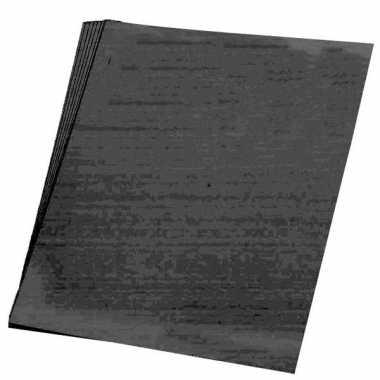 5x vellen hobby karton zwart van 48x68 cm prijs