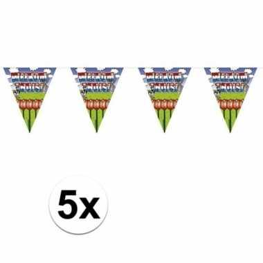 5x welkom thuis thema vlaggenlijnenen van 6 meter prijs