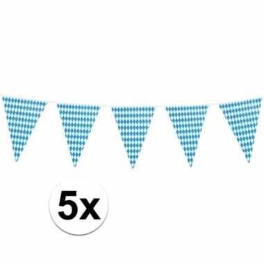 5x xl oktoberfest vlaggenlijnen 8 m prijs