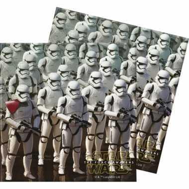 60x star wars feest servetten 33 x 33 cm kinderverjaardag prijs