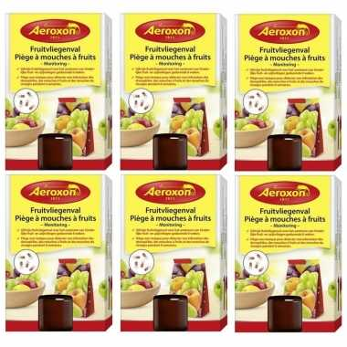 6x aeroxon fruitvliegvangers 40 ml prijs