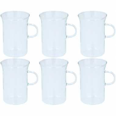 6x glazen voor thee 250 ml prijs