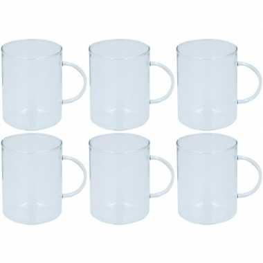 6x glazen voor thee 400 ml prijs