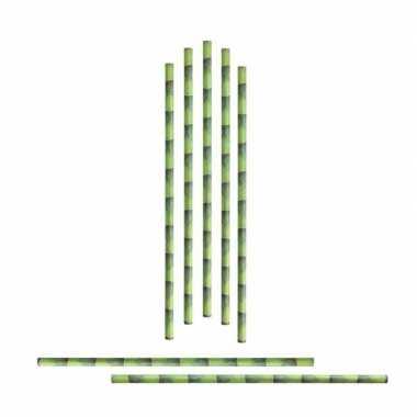 72x rietjes bamboeprint prijs