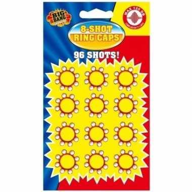 8-schots speelgoed plaffertjes 36x ringen prijs