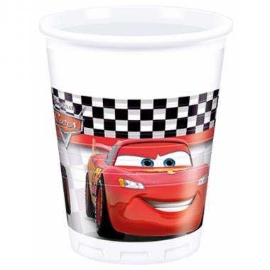 8x disney cars drinkbekers 200 ml kinderverjaarda prijs