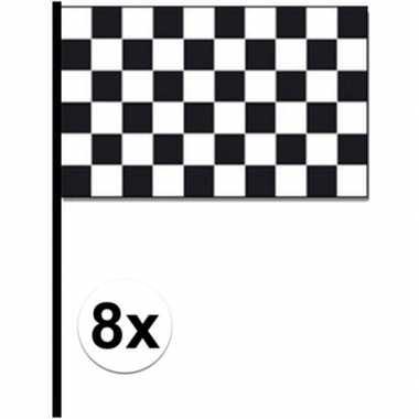 8x finish zwaaivlaggetjes autoracing prijs