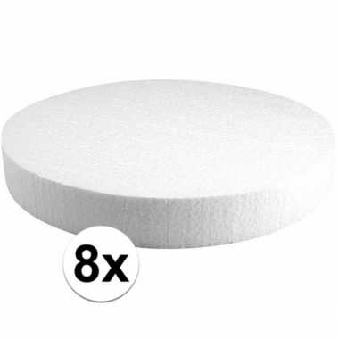 8x piepschuimen taart schijven 30 cm prijs