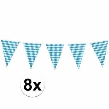 8x xl oktoberfest vlaggenlijnen 8 m prijs