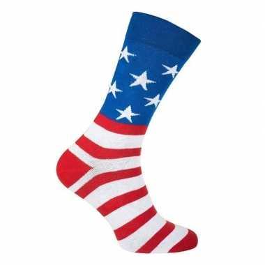 Amerika feest sokken dames en heren prijs