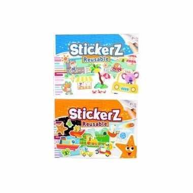 Vergelijk auto stickers set verkeer thema 10 vellen prijs