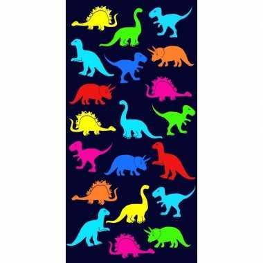 Badlaken dinosaurus print dino voor kinderen 70 x 140 cm prijs