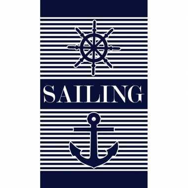 Badlaken maritiem print milford voor volwassenen 95/100 x 175 prijs