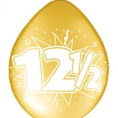 Ballonnen 12,5 jarig jubileum 40x prijs