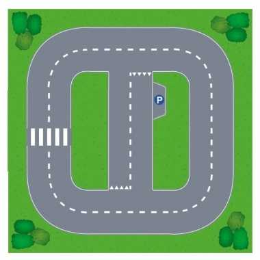 Basic diy speelgoed stratenplan/ kartonnen speelkleed prijs